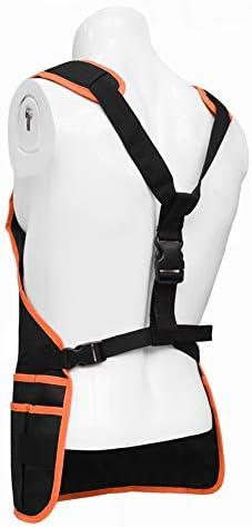 ガーデニングエプロン ツールポケット付き、完全に調整可能、防水、男性と女性用