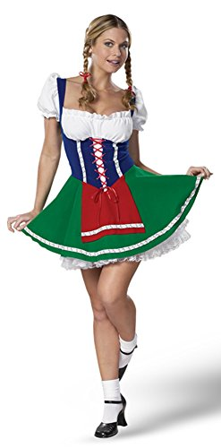 Sexy Milk Maiden - Adult Small Costume (Milk Maiden Adult Costumes)