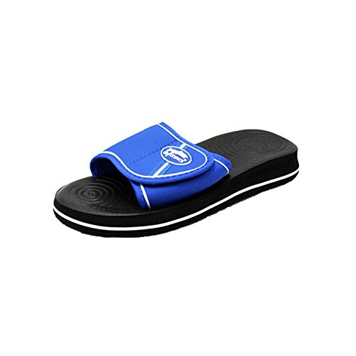 SendIt4Me Foam Holiday/Beach Sandals With Adjustable Strap Older Boys/Mens Blue czPy7QFHp