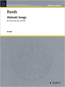 Walcott Songs (Edition Schott)