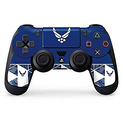 1354beade3c Image Unavailable. Image not available for. Color  US Air Force PS4  Controller Skin - Air Force Symbol
