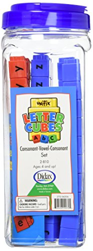 (Didax Educational Resources CVC Unifix Letter Cubes (Set of 90))