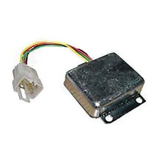 voltage regulator - 12 volt - 4 spade plug john deere 2440 401c 4520 4455  302a 400 302 401b 4020 401 2020 1520 401d 5020 480a 2030 2630 480 300 1530  1020
