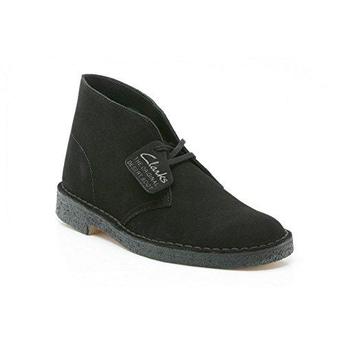 clarks-original-desert-boot-black-mens-shoes-size-10-uk