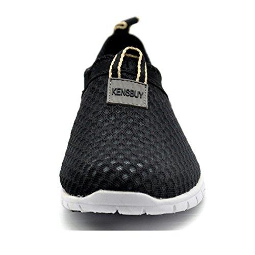 Kensbuy Women S Lightweight Slip On Mesh Shoes