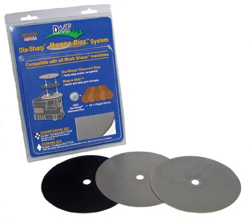 DMT DMDS-S Dia-Sharp Magna-Disc Sharpening Kit ()