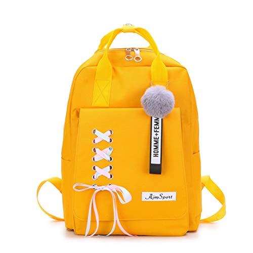 CANRAN School Backpack Teen Girls Bookbag for Laptop Book Bag Travel Rucksack Daypack for Men Women Boys Girls