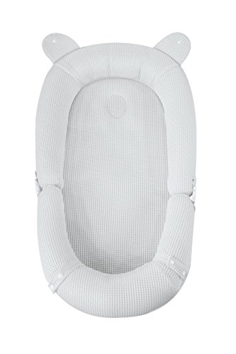 My Toddler Baby Lounger | from Parents to Parents Designed Portable Crib and Bassinet | Perfect for Co Sleeping & Tummy Time | Built-in Head Shaping Pillow | 100% Washable Baby Nest for 0-24 Months For Sale