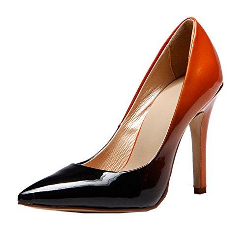 Kevin Fashion Kf151004 Da Donna Eleganti Scarpe Eleganti In Vernice Rossa / Nero