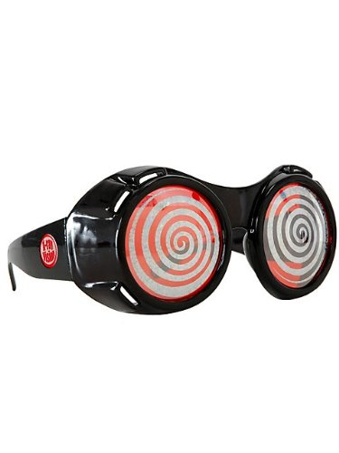 Mad Scientist Glasses (Elope X-ray Sparkle Goggles (Black/Red))