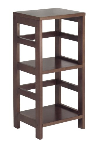 Winsome Wood Shelf, Espresso (Wicker Unit Shelf)