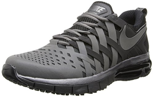 Nike - Zapatillas de deporte Fingertrap Max , Hombre , Plateado (Metallic Dark Grey/Metallic Dark Grey/Black) Metallic Dark Grey / Metallic Dark Grey / Black