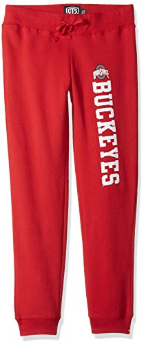 NCAA Ohio State Buckeyes Women's Ots Fleece Pants, Large, Red