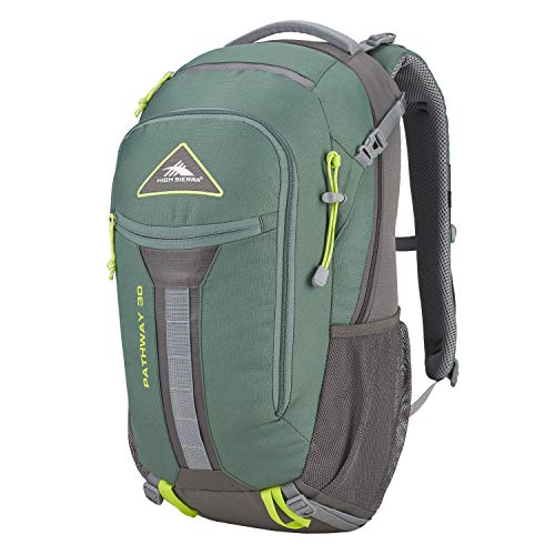 High Sierra Pathway 30-Liter Internal Frame Hiking Backpack – Internal Frame Backpack with Hydration Port – Compatible with 3-Liter Hydration Reservoir – for Hiking, Camping, or Trekking Adventure