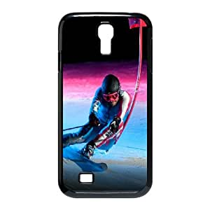 Sochi 2014 Olympic Downhill Skiing Samsung Galaxy S4 9500 Cell Phone Case Black phone component RT_200835