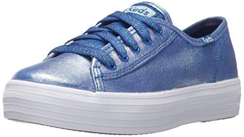 Keds Girl's Blue Kick Sneakers Triple rxrqwZd0I
