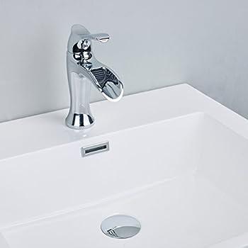 AquaSource Grabill Chrome 1-Handle Single Hole WaterSense ...