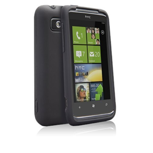 Case-Mate Safe Skin Silicone Case for HTC Trophy - - Htc Silicone Trophy Case