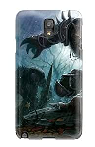 Galaxy Note 3 Case Bumper Tpu Skin Cover For World Of Warcraft Accessories