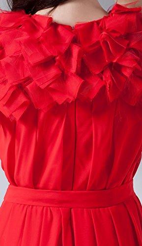 Bridal_Mall - Vestido - Sin mangas - para mujer Verde