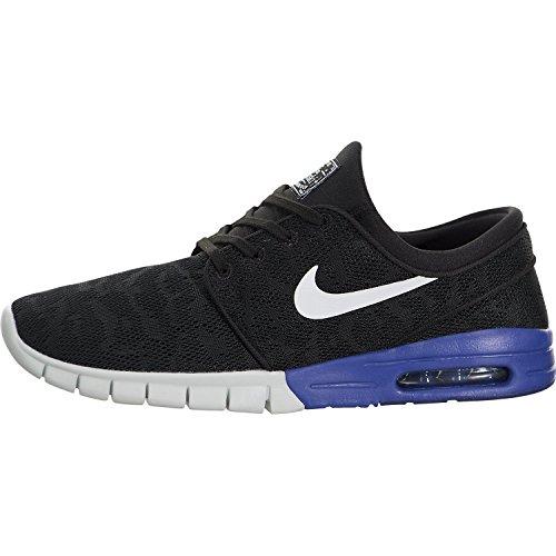 Nike Men's Stefan Janoski Max Black/White/Deep Night Skate Shoe 12 Men