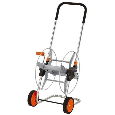 GARDENA Metall-Schlauchwagen 60: Mobile Schlauchtrommel mit bis zu 60 m Schlauchkapazität bei 13mm Schlauch, höhenverstellbar
