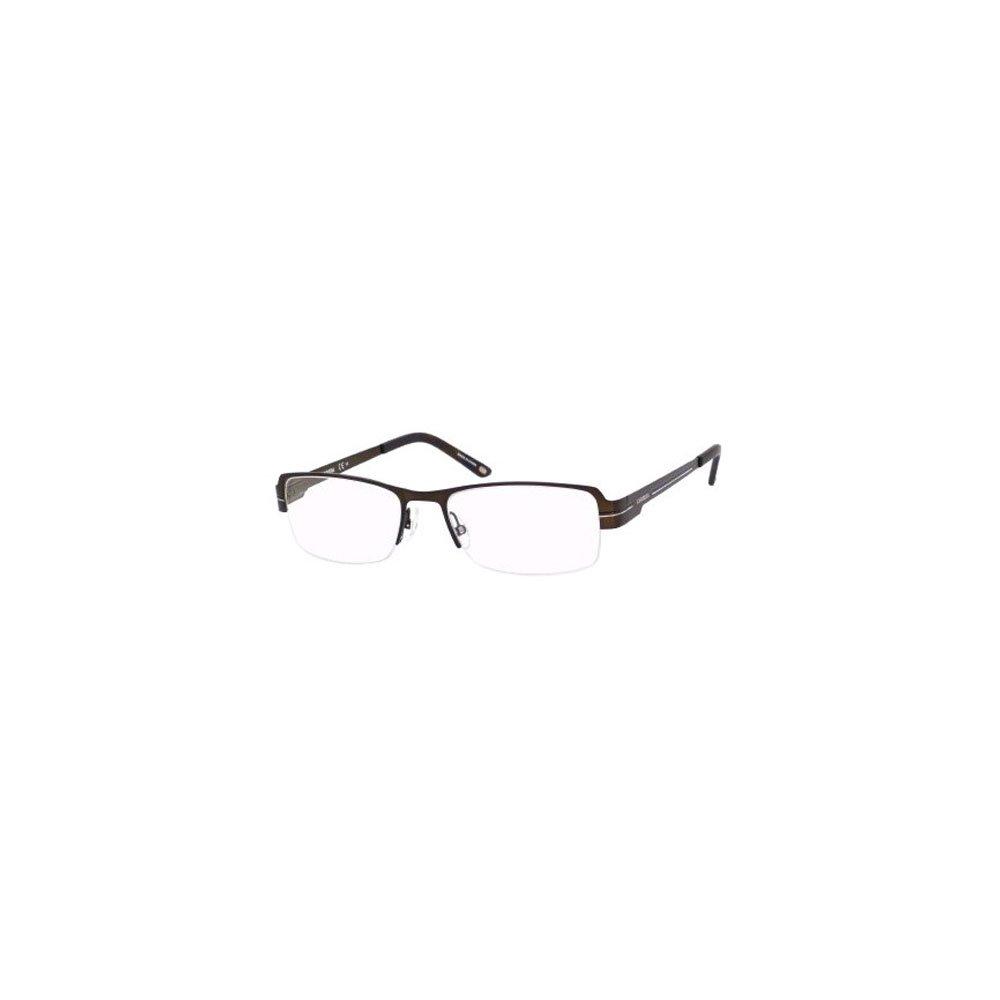 Carrera 7582 Eyeglasses-0TRF Semi Matte Brown-54mm