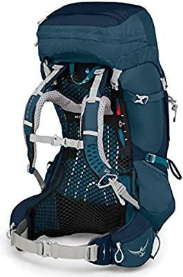 Osprey Aura AG 65 Womens Backpacking Pack - Challenger Blue (WS ...