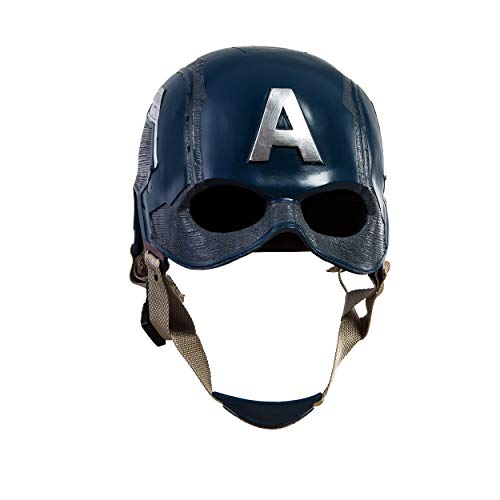 Traveller Captain America 3 Civil War Helmet Movie Cosplay Props for Adult, Navy Blue, one size by Traveller (Image #1)