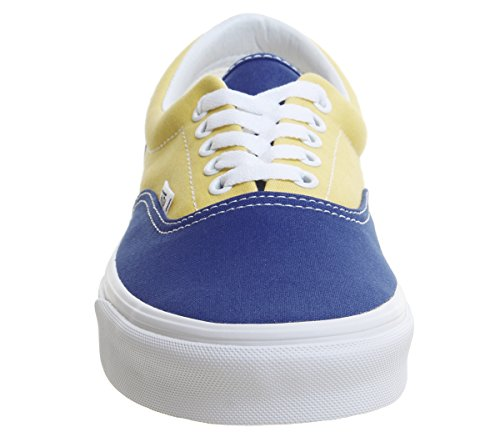 U Checkerboard Bmx Blue yellow Era adulte true Baskets mixte Vans mode wZxgqFg4P