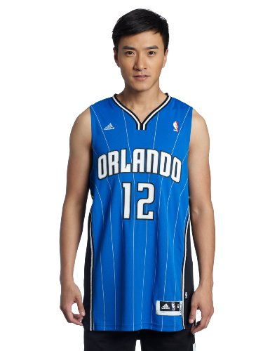 NBA Men's Orlando Magic Dwight Howard Replica Player Swingman Jersey, X-Large, Blue