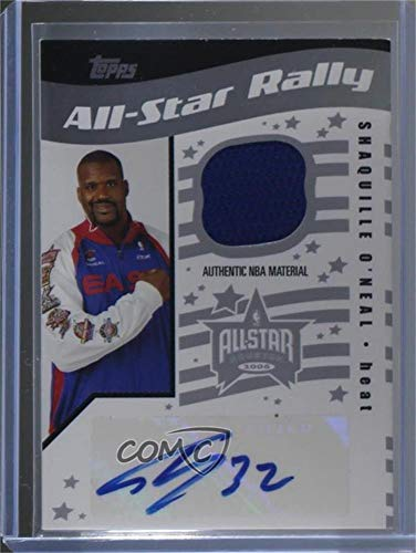 Shaquille O Neal   199 (Basketball Card) 2006-07 Topps Big Game - All-Star  Rally Relics - Autographs  Autographed   ASRA-SO dd58f1d40