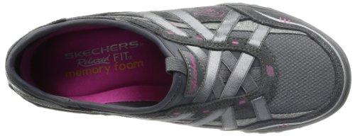 Skechers Breathe-Easy - Zapatillas de material sintético mujer gris - Grau (CCL)