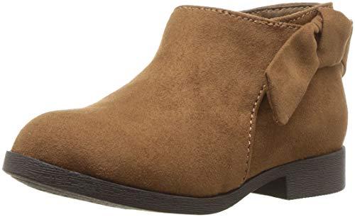 Image of Nine West Girls' Samarah Ankle Boot, Snuff, M130 M US Little Kid