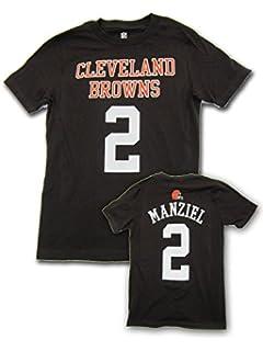 Amazon.com : JOHNNY MANZIEL CLEVELAND BROWNS JERSEY ON FIELD #2 ...