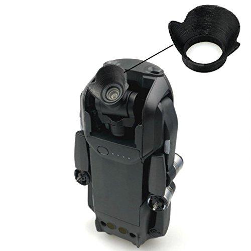 Amiley For DJI Mavic Air accessories , Mini Lens Hood sunlight Shade Against Light Flares Protective Cover for DJI MAVIC AIR (A) (Dji Spark Palm Launch Intelligent Portable Mini Drone)