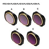 Lens Filters for DJI OSMO Pocket Camera - ND4-PL/ND8-PL/ND16-PL/ND32-PL Filter Set (ND4-PL)