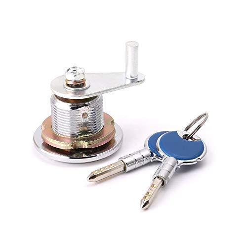 Security Safe Deposit Box Anti-theft Lock With Encryption Keys Copper Cylinder