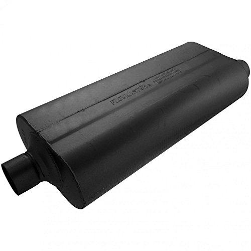 - Flowmaster 52572 70 Series Muffler - 2.50 Center IN / 2.50 Offset OUT - Mild Sound