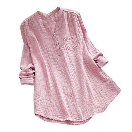 Spbamboo Women Stand Collar Long Sleeve Casual Loose Tunic Tops T Shirt (Lamp Long Sleeve T-shirt)