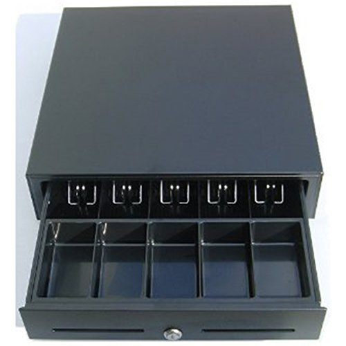 Price comparison product image 2xhome Heavy Duty POS Point of Sale / cash Register Rj-12 Key-lock Cash Drawer W / bill & Coin Trays (24v)
