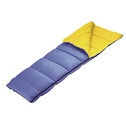 Wenzel Cub Kids 45 Degree Sleeping Bag - Blue [並行輸入品] B072Z6VP3Z
