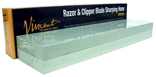 Vincent Masterly Razor, Clipper, Knife, Blade Sharpening Hone Stone - # 500/800 Grit sides