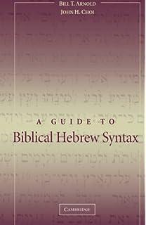 A grammar of biblical hebrew subsidia biblica paul joon t a guide to biblical hebrew syntax fandeluxe Gallery