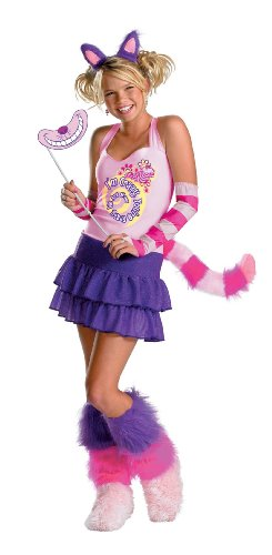 [Cheshire Cat Costume - Child Extra Large] (Cheshire Cat Makeup And Costume)