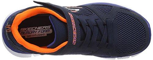 Skechers Equalizer Quick, Zapatillas De Deporte Para Exterior Para Niños Azul (Nvor)