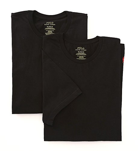 UPC 043935777760, Polo Ralph Lauren Big Man 100% Cotton Crews - 2 Pack (LXCN) 4XL/Black