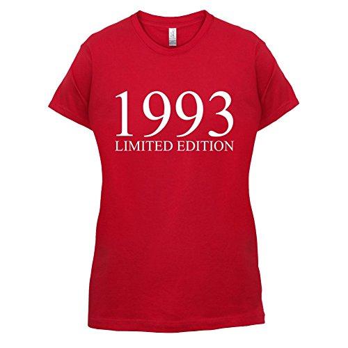 1993 Limierte Auflage / Limited Edition - 24. Geburtstag - Damen T-Shirt - Rot - L