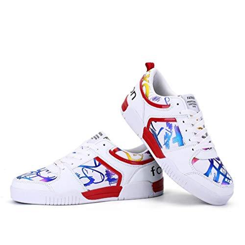 lacci Scarni Novità B invisibile lacci con bianchi donna Estate alto Sneakers Primavera aumento con Tacco Scarpe da T6qgOO