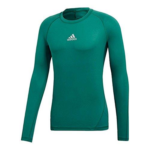 うがい薬きらめく十億アディダス(adidas) ALPHASKIN TEAM ロングスリーブシャツ EVN55 CW9507 テックフォレスト 2XO